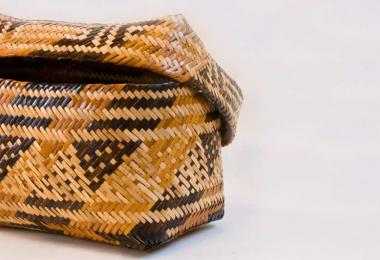 Cherokee art basket