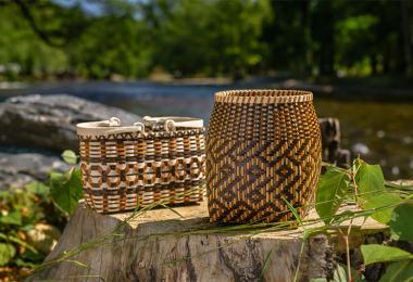 Cherokee art baskets 0