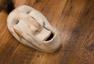 Cherokee art mask