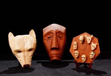 Cherokee art masks