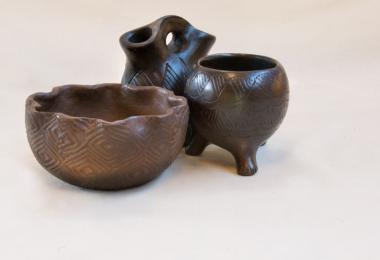 Cherokee art pots